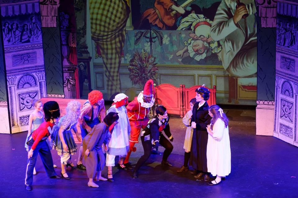 Mary Poppins at Denton Community Theatre 2016