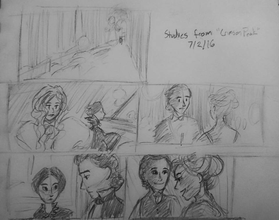 Studies (Crimson Peak - 2016)