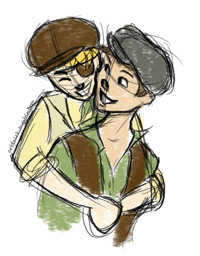 Blink and Mush (Newsies - 2014)